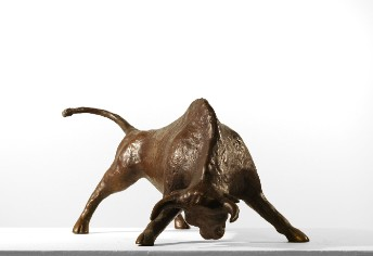 A Bull Bronze