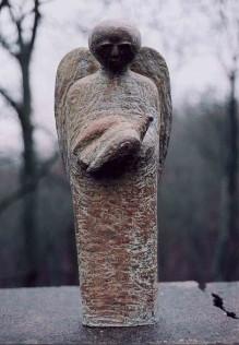 Bronze Guardian Angel
